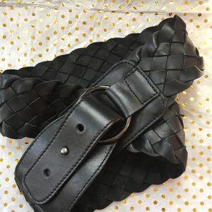 LOFT black braided belt